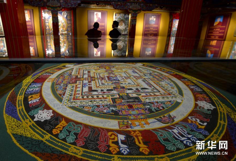 Sexto festival de arte Thangka de China en Lhasa