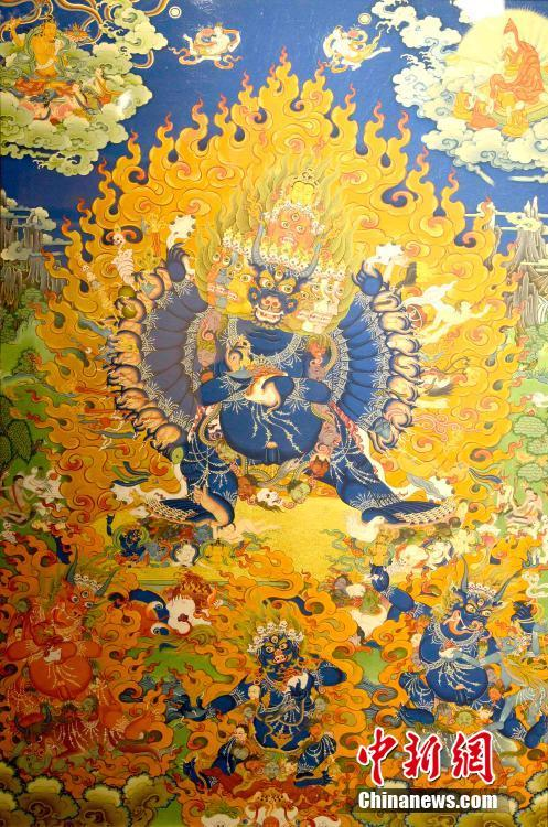 В Лхасе открылся 6-ой Китайский фестиваль тибетского изобразительного искусства