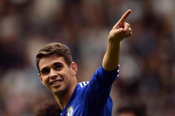 El Shanghai SIPG anuncia el fichaje oficial del brasileño Oscar proveniente del Chelsea inglés