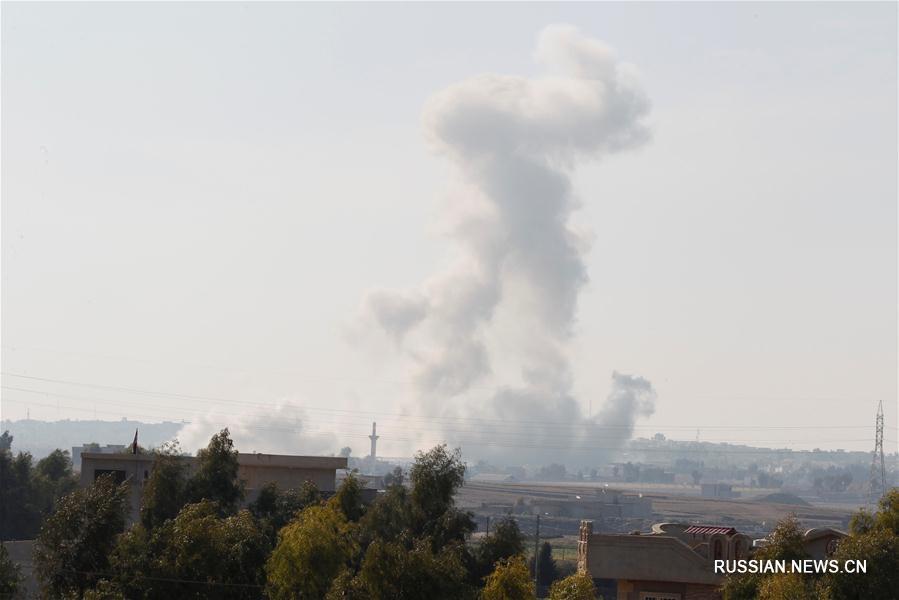 Иракские силы ведут наступление в Мосуле