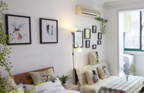 A room for short-term home rental is ready to welcome customers in Shanghai. [Photo: airbnb.com]