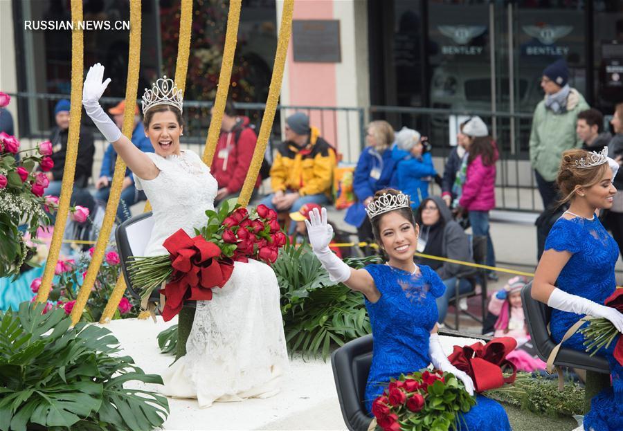 """Новогодний """"Парад роз"""" в Лос-Анджелесе"""