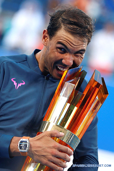 Tenis-Análisis: Rafael Nadal siembra optimismo de cara a temporada 2017