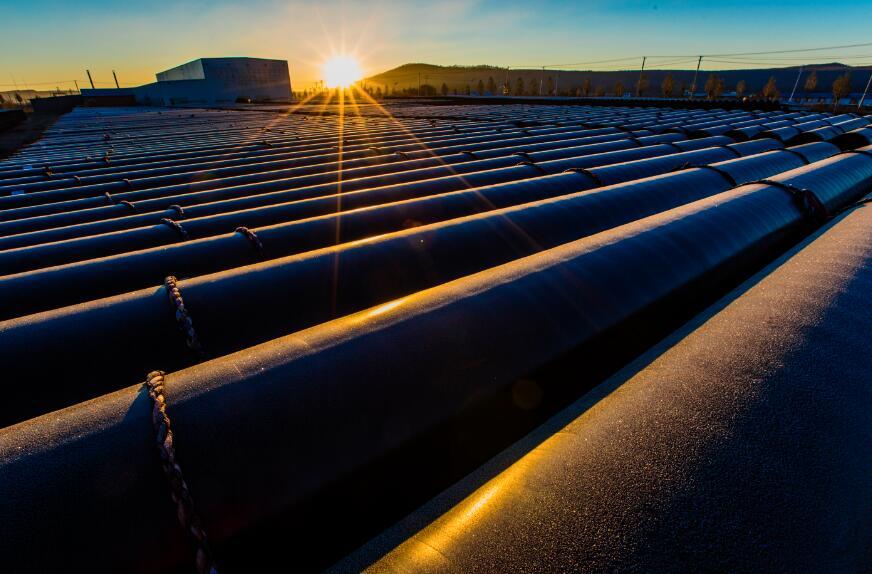 中俄原油管道二线工程管道建设过半