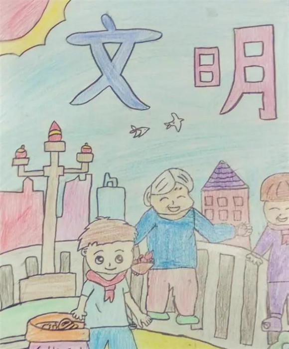 【梦想启航】给未来的画 第四批入选作品图片