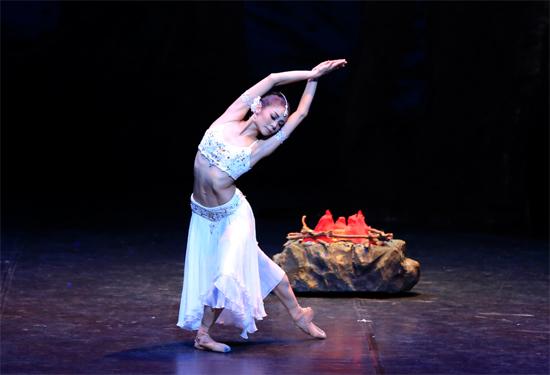 中国国家芭蕾舞团携 舞姬 亮相国家大剧院