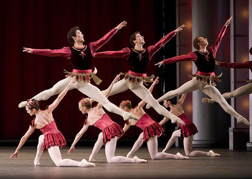 2017年将迎来舞蹈大师巴兰钦的芭蕾舞剧《珠宝》首演50周年