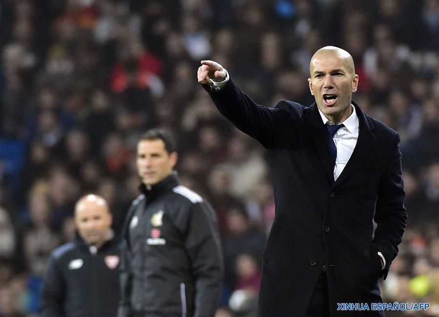Real Madrid gana 3-0 al Sevilla en eliminatoria Copa del Rey