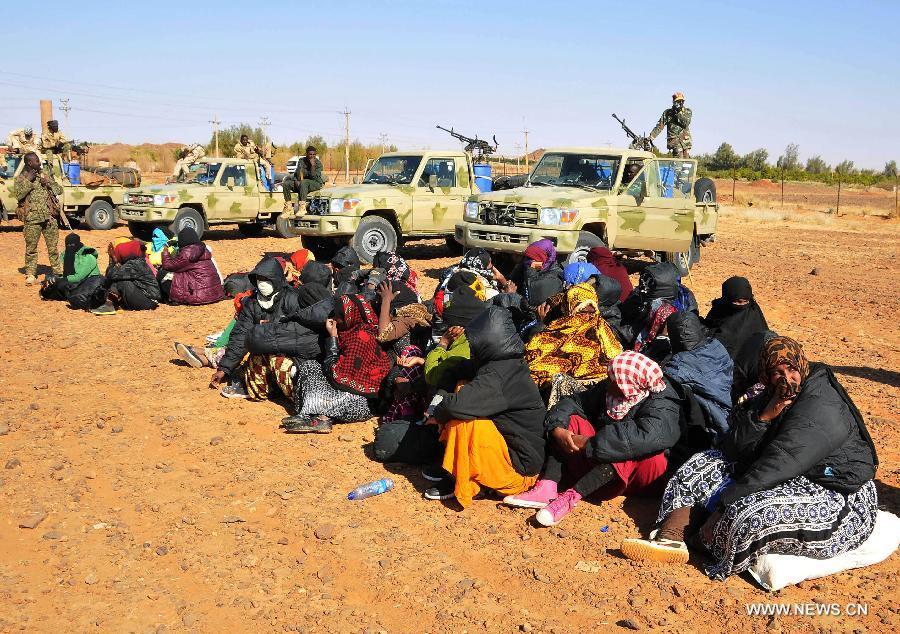 Les forces de sécurité du Soudan déjouent la contrebande de 115 immigrés clandestins