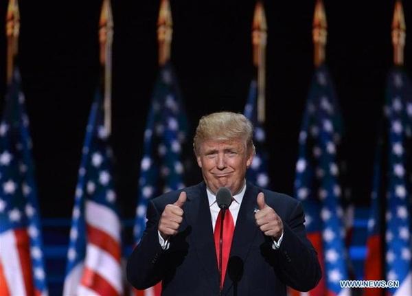 الصورة الأرشيفية: الرئيس الأمريكي المنتخب دونالد ترامب