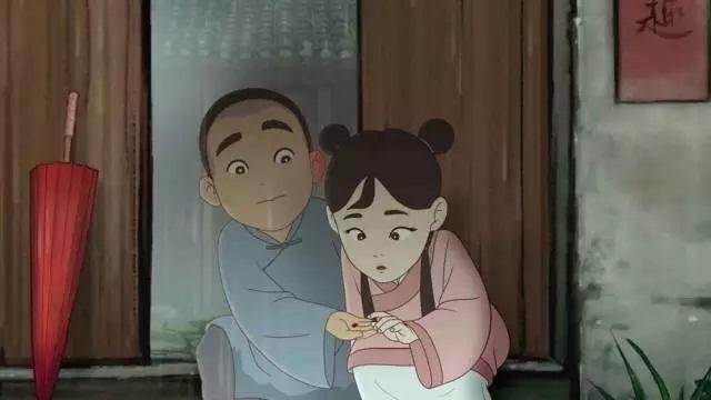 كانا صديقين حميمين في طفولتهما. وأخفى الشاب حبه إلى الفتاة.
