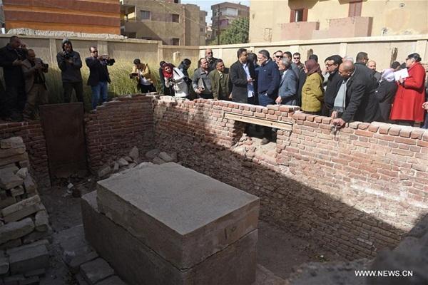 وزير الآثار المصري يزور القليوبية لتفقد الأماكن الأثرية