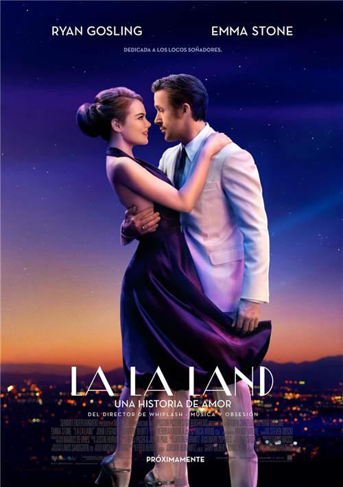 电影《爱乐之城》正式海报
