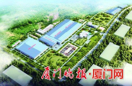 厦顺铝箔增资扩产项目新建厂房效果图