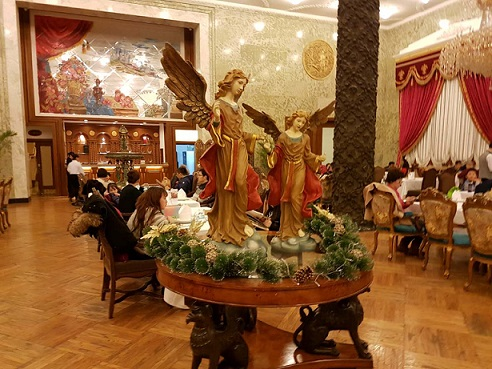 Inside Moscow Restaurant