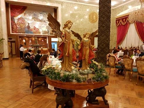 Inside Moscow Restaurant