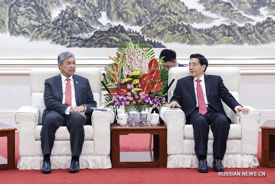 Го Шэнкунь встретился с вице-премьером Малайзии, министром внутренних дел А. З. Хамиди
