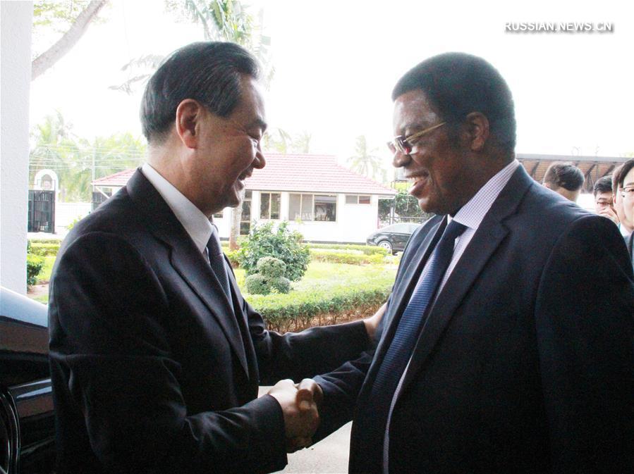 Ван И провел переговоры с министром иностранных дел Танзании