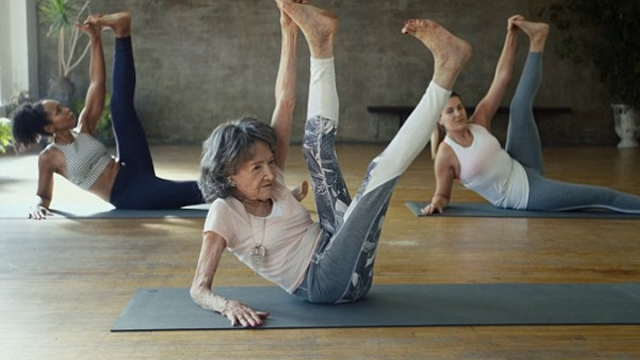 Nearing a century: Tao Porchon-Lynch, 98, who was raised in India and currently lives in Westchester County, New York, has been practicing yoga for more than 70 years, and she shows no signs of slowing down.