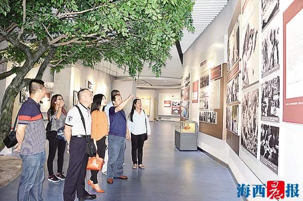 象屿分局党支部赴东山学习谷文昌精神。