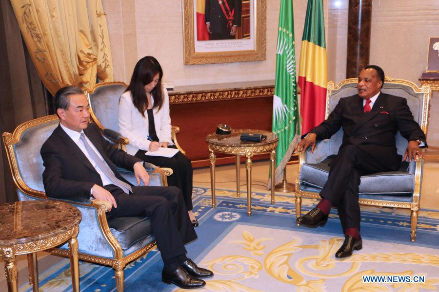 Sassou Nguesso salue le soutien chinois au développement congolais