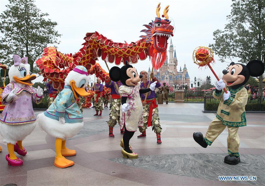 Shanghai Disneyland se prépare pour le Nouvel An chinois
