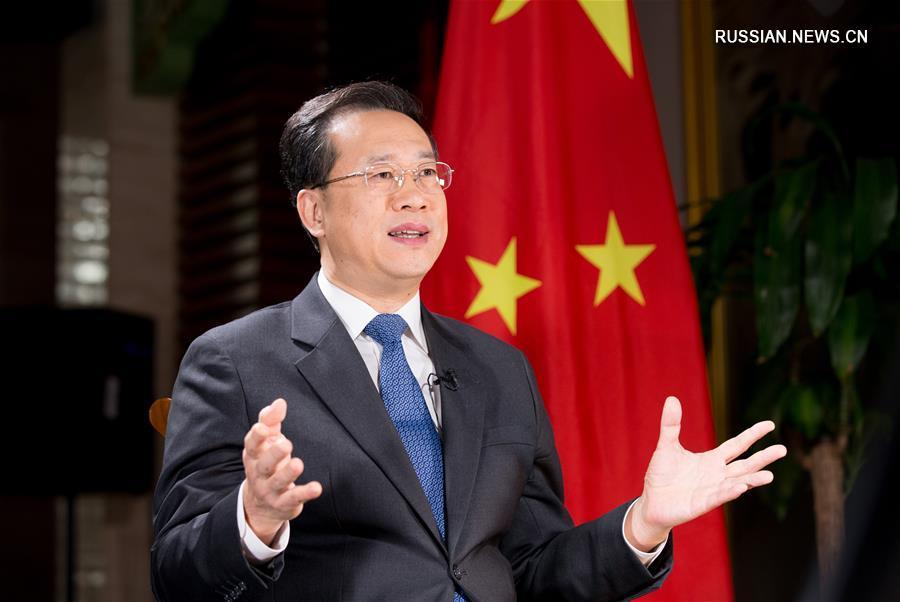 Постоянный представитель КНР при Канцелярии ООН и других международных организациях в Женеве Ма Чжаосюй