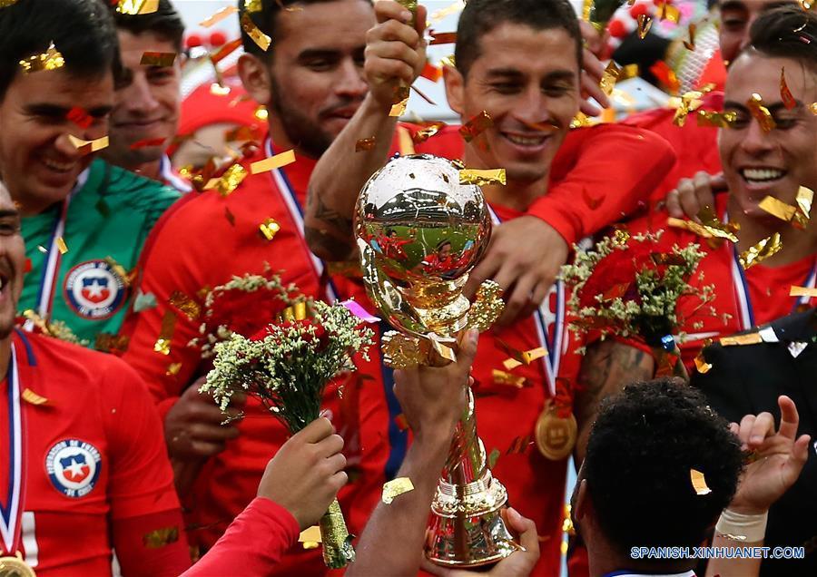 Chile vence a Islandia por 1-0 y gana título de China Cup