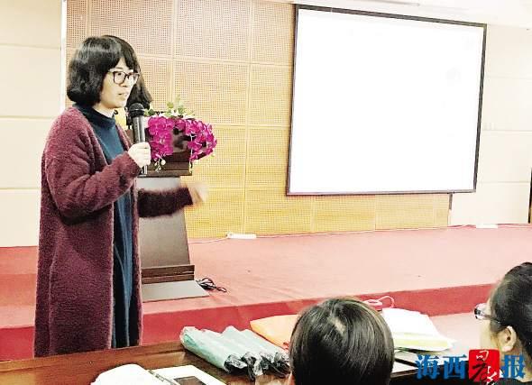 吴芹教市民科学坐月子。