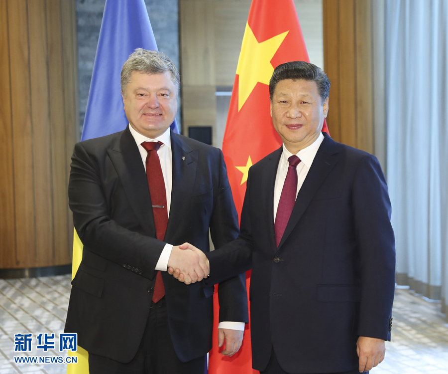 China is willing to play a constructive role in the political settlement of the Ukraine crisis, Chinese President Xi Jinping said here Tuesday.