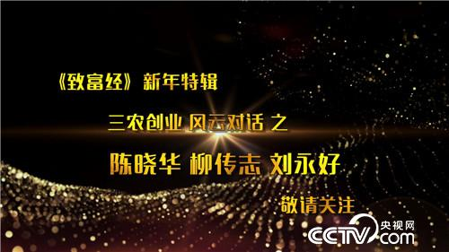 三农创业风云对话之陈晓华、柳传志、刘永好