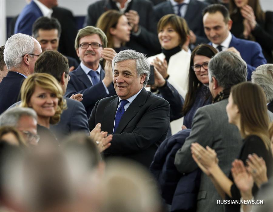 Итальянец Антонио Таяни избран председателем Европейского парламента