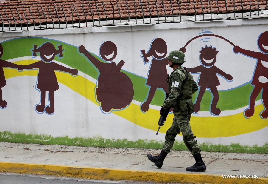 В результате стрельбы в школе в Мексике погиб один человек, ранены четверо