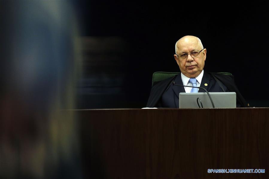 el magistrado de la Corte Suprema de Brasil, Teori Zavascki  (Xinhua)