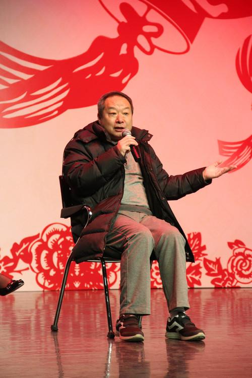"""北京市曲剧团著名演员张绍荣讲述自己21年前饰演""""程疯子""""的心路历程"""