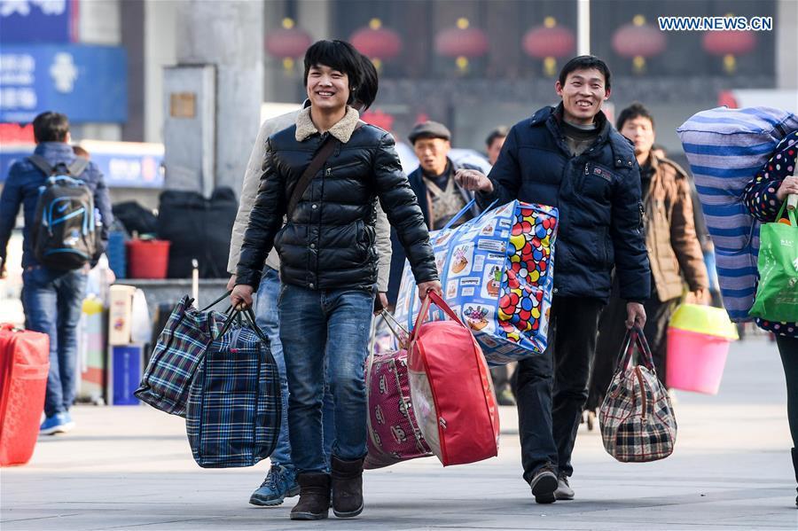 Continúa el frenesí de viajes de 40 días en China con motivo de la Fiesta de la Primavera