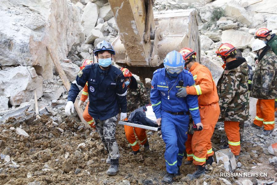 Выяснена причина горного обвала, унесшего жизни 12 человек в провинции Хубэй