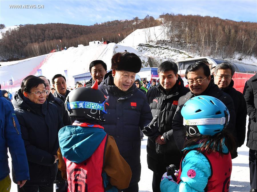 الرئيس الصيني يشدد على الاستعداد عالي الجودة للألعاب الأوليمبية الشتوية 2022 في بكين