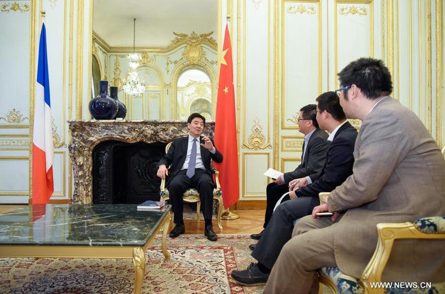 Les relations franco-chinoises ne changeront pas leur cap en 2017, estime l