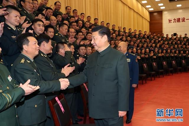 الرئيس الصيني يدعو لمواصلة جهود بناء جيش قوي