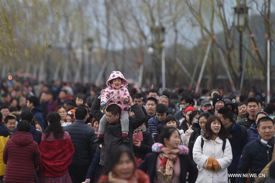 Cifra de consumo turístico alcanzó 367.000 millones de yuanes durante los primeros 5 días