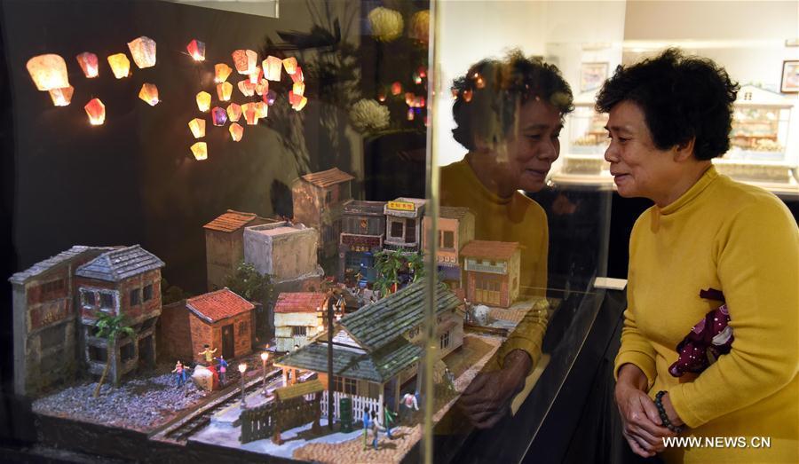 """فن """"العالم المصغر"""" في مدينة تايبي"""
