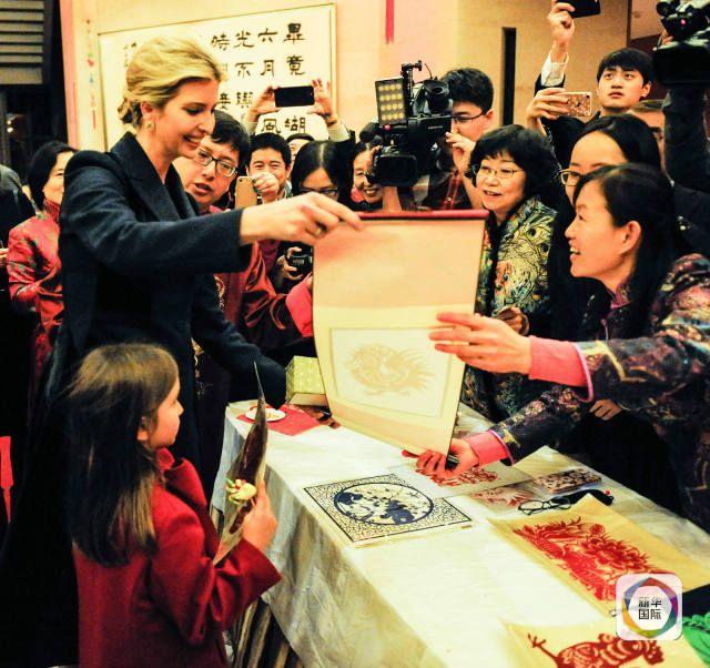 Дочь президента США посетила мероприятия по случаю празднования Нового года по лунному календарю