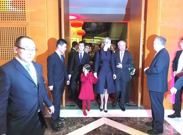 Ivanka Trump invitée à la réception de la fête du Printemps à l'ambassade de Chine à Washington