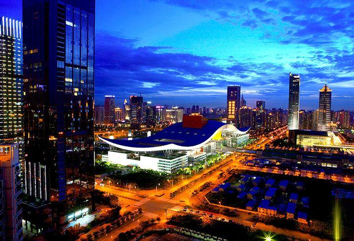 중국 개혁개방의 1번지 선전시 야경/자료사진