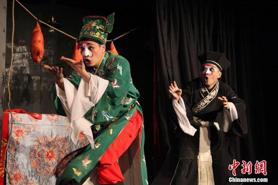 A Chinese Comedy Festival has opened in London as part of Spring Festival celebrations.
