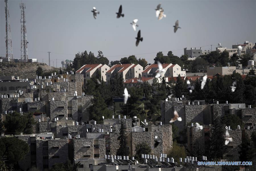 Israel aprobara el lunes un proyecto de ley que legalizará de forma retroactiva los asentamientos israelíes en terrenos privados palestinos en Cisjordania. (Xinhua/Ma Meng)