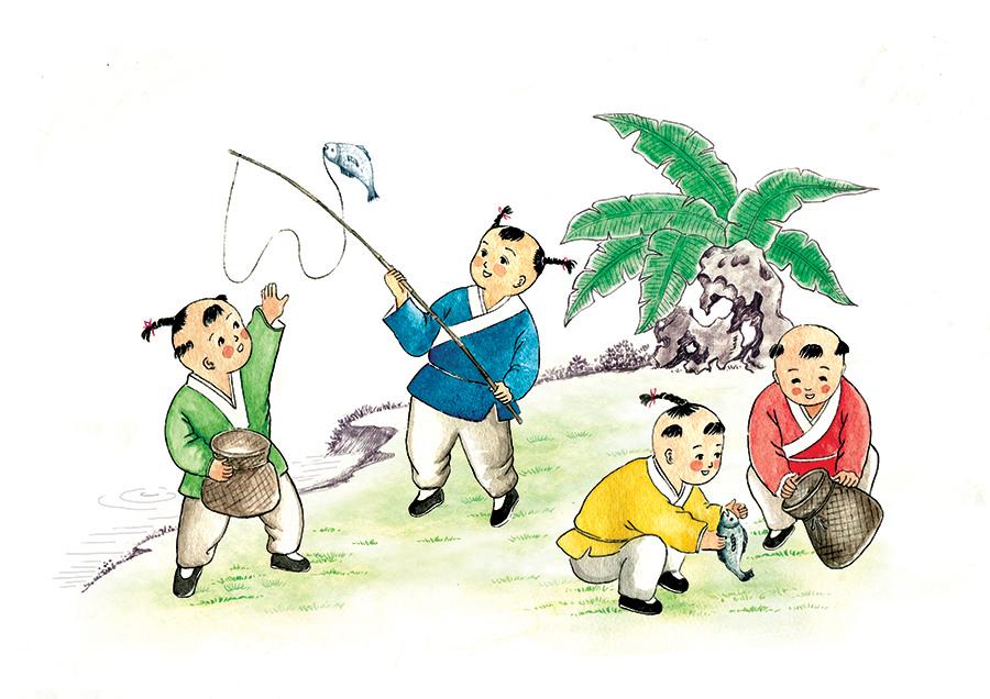 中国古代的小孩子都怎么玩?