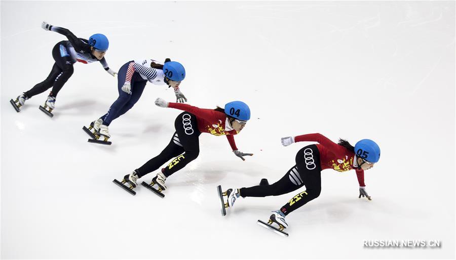 Китайские спортсменки завоевали в шорт-треке на Универсиаде-2017 золотую и серебряную медали