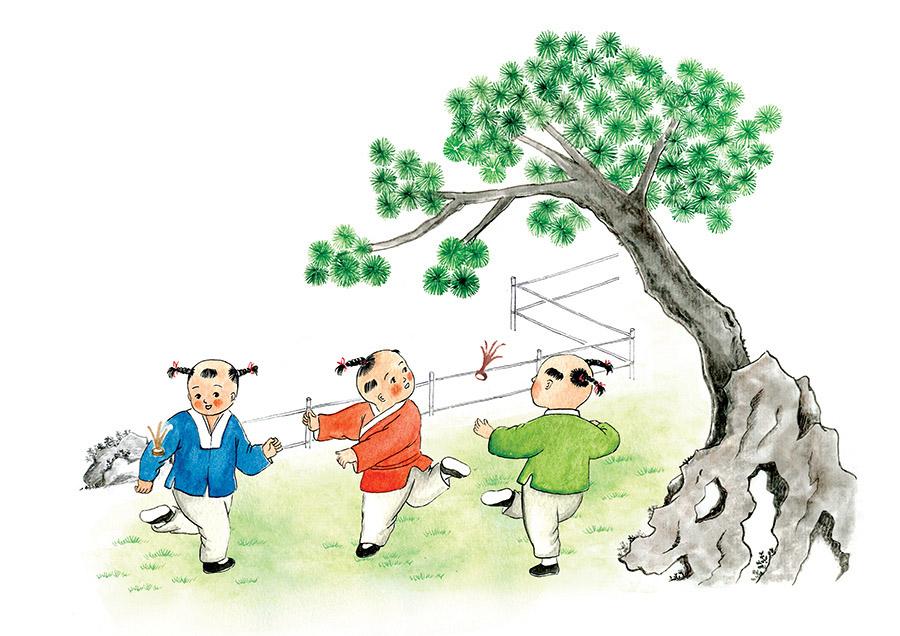 钓鱼 央视网熊猫频道消息 汕头插画师跳叫板专注于中国传统题材绘画已经有好几年了,由于这方面的独特经历,越来越多的客户找到她来绘制本体题材的作品。这一次她受邀参与了系列教材《国学主题诵读》的封面绘制环节,结合书籍的内容,插图体现童趣、灵动的古代小孩游戏、生活的画面。作品很精彩,同时也非常有意义。在传播传统文化的漫漫路上,不仅需要学者的力量,还需要各行各业的全力支持与参与,而插画师正是其中一份子,我们相信,未来还会有更多这样的精彩内容不断诞生。 作者:跳叫板  小站:iamldn.